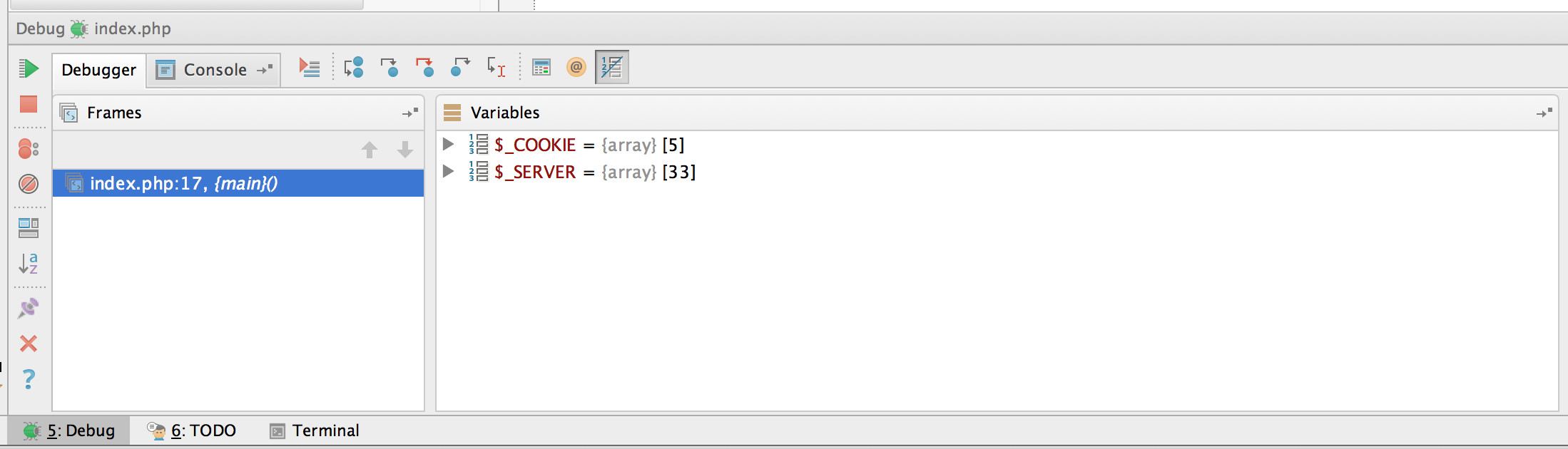 PHPStorm Debug